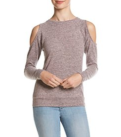 no comment™ Long Sleeve Cold Shoulder Top