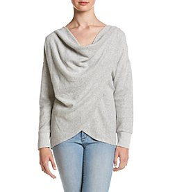 Eyeshadow® Drape Front Pullover