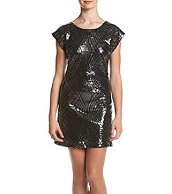 Trixxi® Sequin Shift Dress