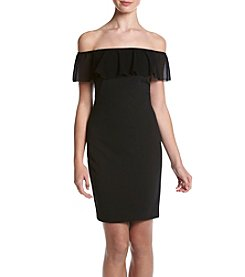 My Michelle® Off-Shoulder Ruffle Dress