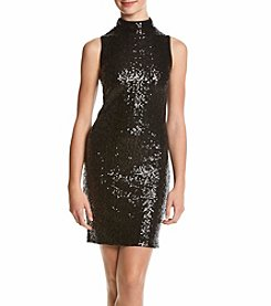 Kensie® Sequin Jersey Dress
