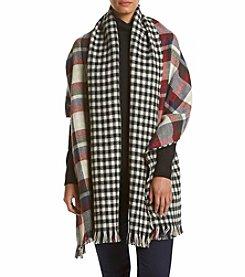 Steve Madden Reversible Blanket Wrap