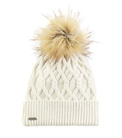 Steve Madden Cable Knit Cuff Hat