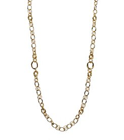 Napier® Goldtone Strand Necklace