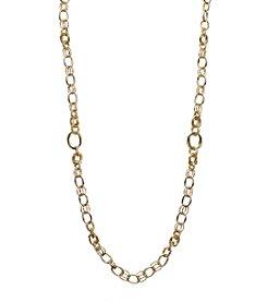 Napier® Goldtone Strand Necklace