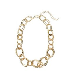 Napier® Handmade Chain Collar Necklace