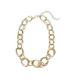 Napier® Handmade Chain Collar Necklace
