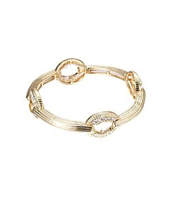 Napier® Goldtone Stretch Bracelet
