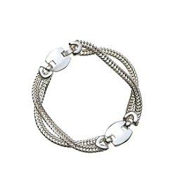 Napier® Silvertone Bracelet
