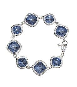 Napier® Boxed Blue Stone Bracelet