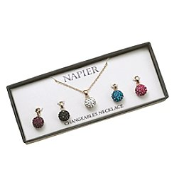 Napier® Boxed Interchangeable Necklace Set
