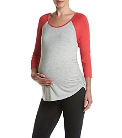 Three Seasons Maternity™ Baseball Top
