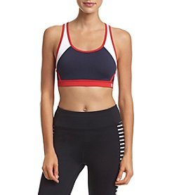 Tommy Hilfiger® Colorblock Keyhole Sports Bra