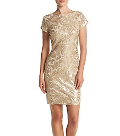 S.L. Fashions Sequin Dress