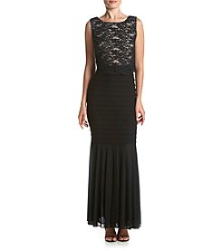 R&M Richards® Popover Shutter Long Dress