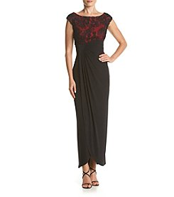 Connected® Ruched Long Dress