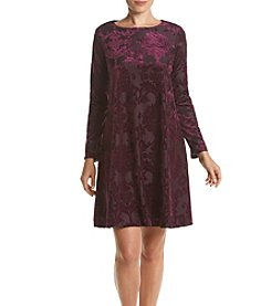 Jessica Howard® Velvet A-Line Dress