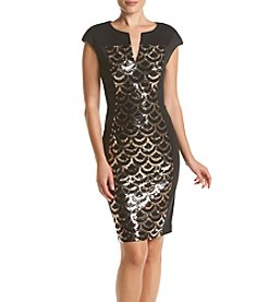 Connected® Sequin Panel Dress