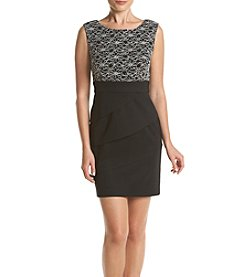 Connected® Mixed Texture Dress