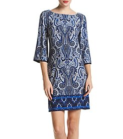 Madison Leigh® Paisley Border Dress