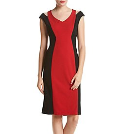 Ronni Nicole® Colorblock Scuba Dress