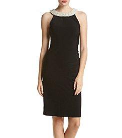 Adrianna Papell® Pearl Halter Dress