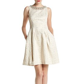 Vince Camuto® Jacquard Party Dress