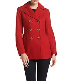 MICHAEL Michael Kors® Notch Collar Peacoat