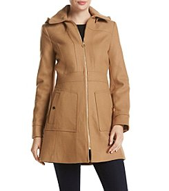 MICHAEL Michael Kors® Club Collar Long Walker Coat