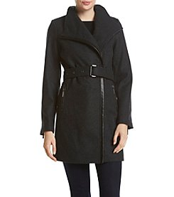 MICHAEL Michael Kors® Funnel Neck Walker Coat