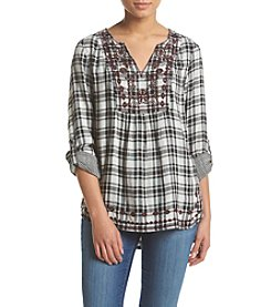 Vintage America Blues™ Anita Plaid Top