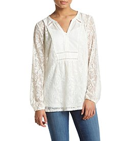 Vintage America Blues™ Long Sleeve Lace Top