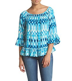 Vintage America Blues™ Jackie Ruffle Top