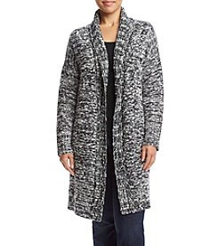 Jones New York® Plus Size Sparkle Marled Cozy Cardigan