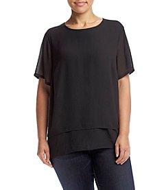 MICHAEL Michael Kors® Plus Size Cutout Back Top