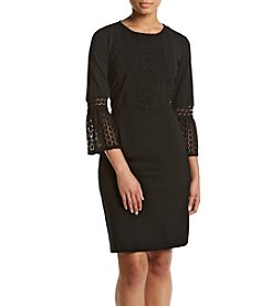 Nanette Nanette Lepore Lace Sleeve Dress