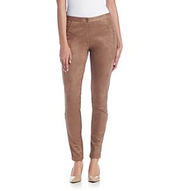 Nanette Nanette Lepore® Distressed Sueded Pants