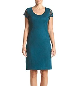 Nanette Nanette Lepore Lace Sleeve Sheath Dress