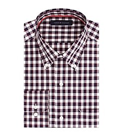Tommy Hilfiger® Men's Berry Check Dress Shirt