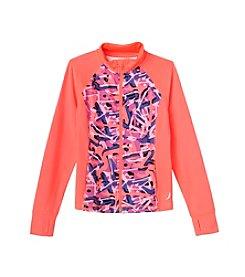 Exertek® Girls' 7-16 Full-Zip Abstract Jacket