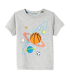 Mix & Match Boys' 2T-7 Sporty Galaxy Tee