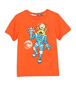 Mix & Match Boys' 2T-7 Astronaut Pizza Tee