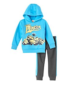 Despicable Me® Boys' 2T-4T 2-Piece Team Minion Hoodie and Joggers Set
