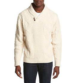 Weatherproof® Men's Shawl Collar Sweater
