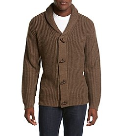 Weatherproof® Men's Acrylic Shawl Cardigan