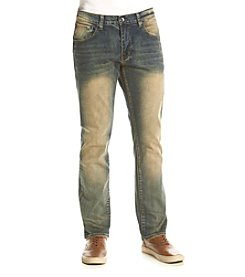 Lazer™ Men's Battle Wash Slim Stretch Jeans