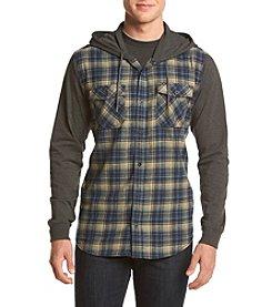 Lazer™ Men's Long Sleeve Flannel Hoodie Knit