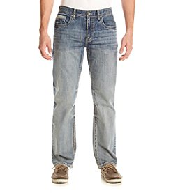 T.K. Axel MFG Co Men's Cobalt Relaxed Straight Jeans