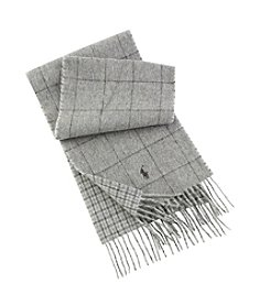 Polo Ralph Lauren® Reversible Windowpane Scarf