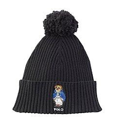 Polo Ralph Lauren® Bear Cuff Pom Hat